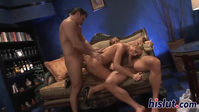 Mom in law aunt and sons friend Holly Sampson join for a fuck [Blonde, Big Tits, High Heels, Threesome, Cheating, Hardcore, MFM]