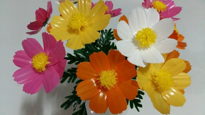 ดอกไม้จากหลอด ดอกดาวกระจายจากหลอด by มาย 361