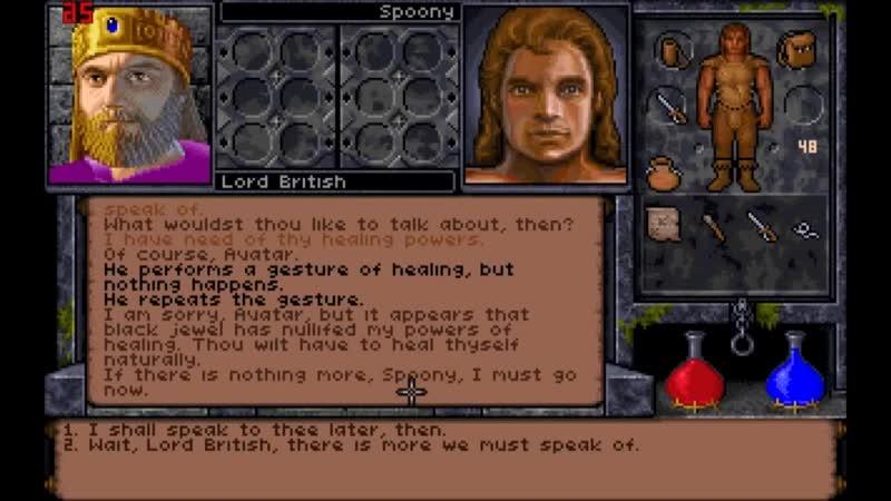 Ultima Undeworld 2 Labyrinth of Worlds   Spoony Experiment от студии дубляжа RusVendettAVoice   RVV Spoony