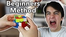 Rubik's Cube Solved In Under 10 Seconds WITH BEGINNERS METHOD