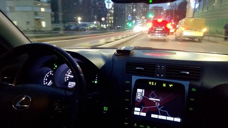 1UR-FSE в Lexus GS300 . TRC,VSC,ABS, Test Drive