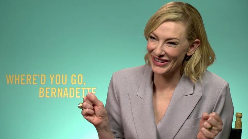 Where'd You Go Bernadette Cate Blanchett Generic Interview