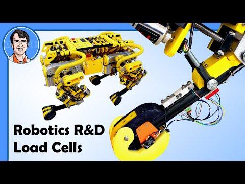 Robotics RD: Testing Load Cells for Robot Foot Sensing