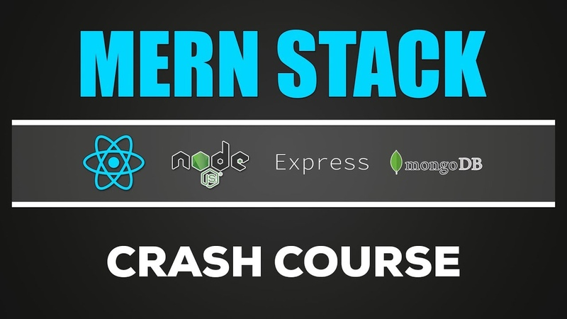 MERN Stack Node Express MongoDB Crash Course Tutorial for Beginners