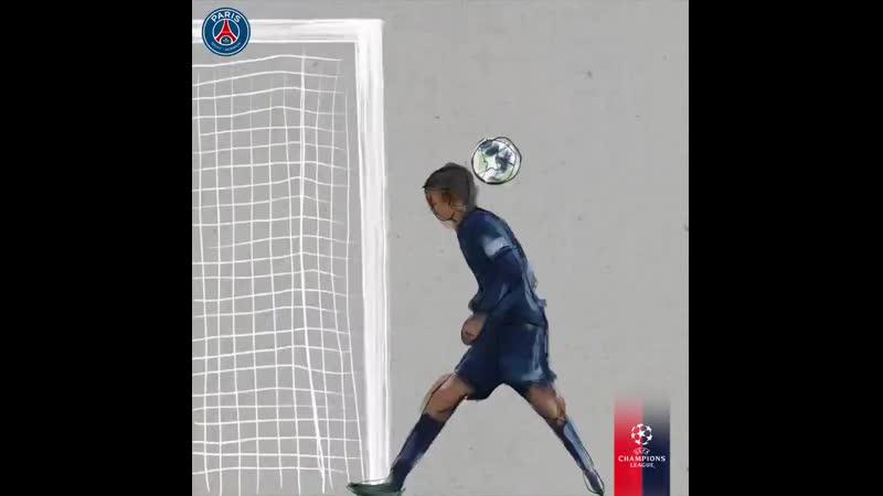 Шикарный гол Ди Марии против Реала