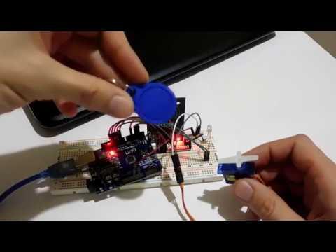 ✅Электронный замок на RFID RC522