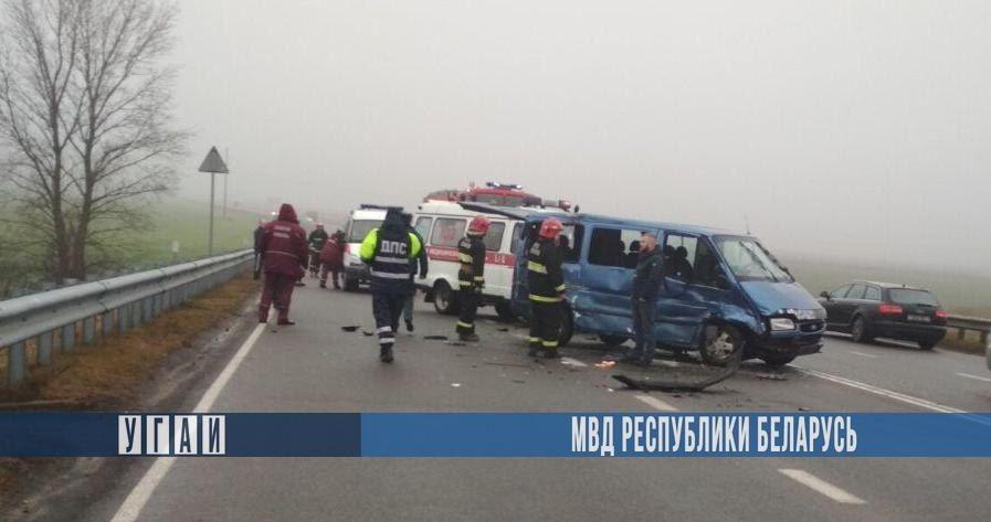 ДТП в Жабинковском районе. 3 человека госпитализированы