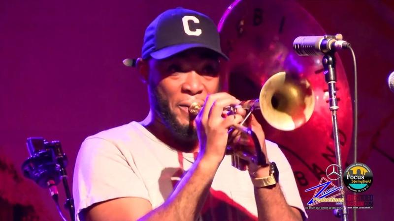 Springfield Jazz Roots Festival 2017 - Rebirth Brass Band