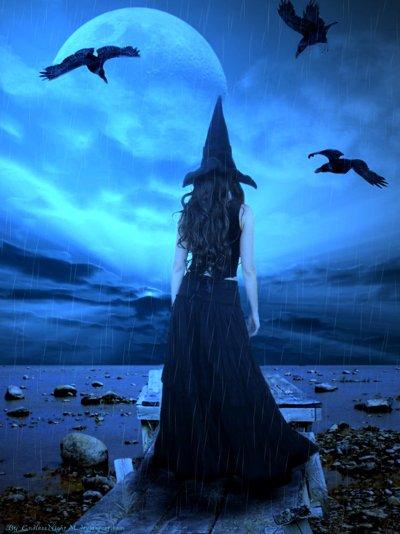лунная ведьма фото проект