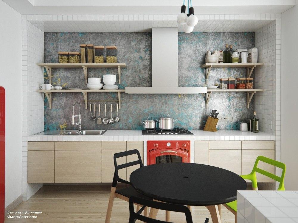 Проект интерьера квартиры-студии
