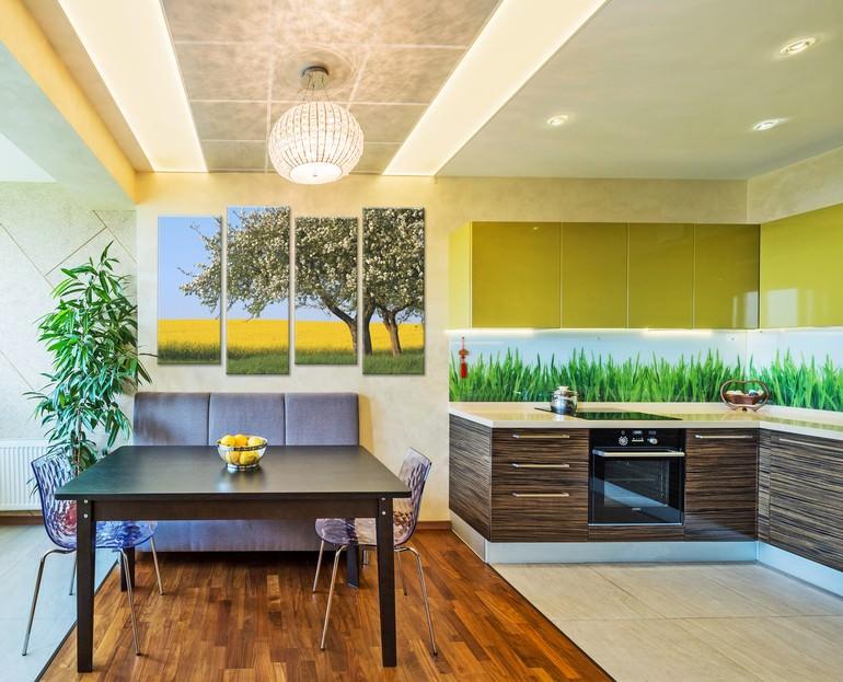 использование картин в дизайне квартиры