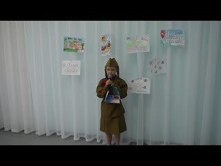 Пигалина Ксения (7 лет) - Рисуют мальчики войну