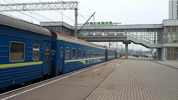 ЛНР намерена восстановить железнодорожное сообщение с Россией