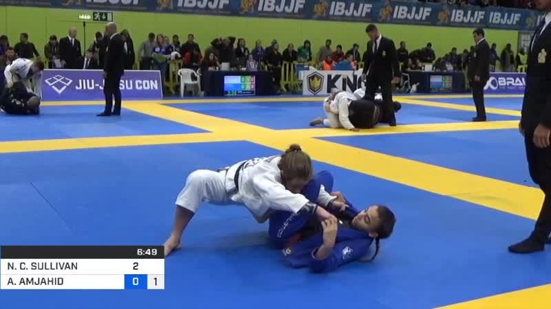 Amal Amjahid VS Nicole Sullivan ibjjfeuro2020