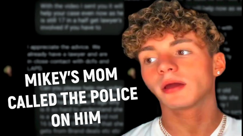 Mikey Tuas Mom Gets The Police INVOLVED For Dating Danielle Cohn