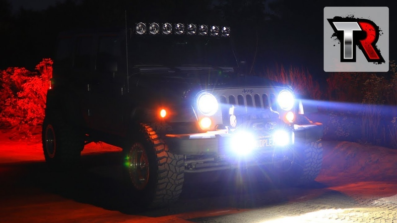 KC HiLiTES LED Headlight and Fog Light Review Jeep
