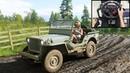 Jeep Willys 4x4 - Forza Horizon 4 | Logitech g29 gameplay