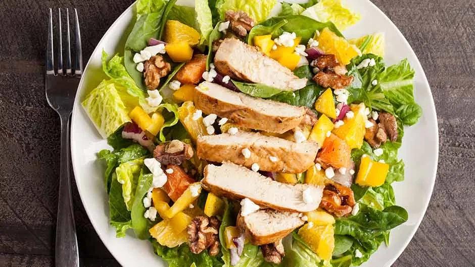 Рецепты белковых салатов для быстрого похудения