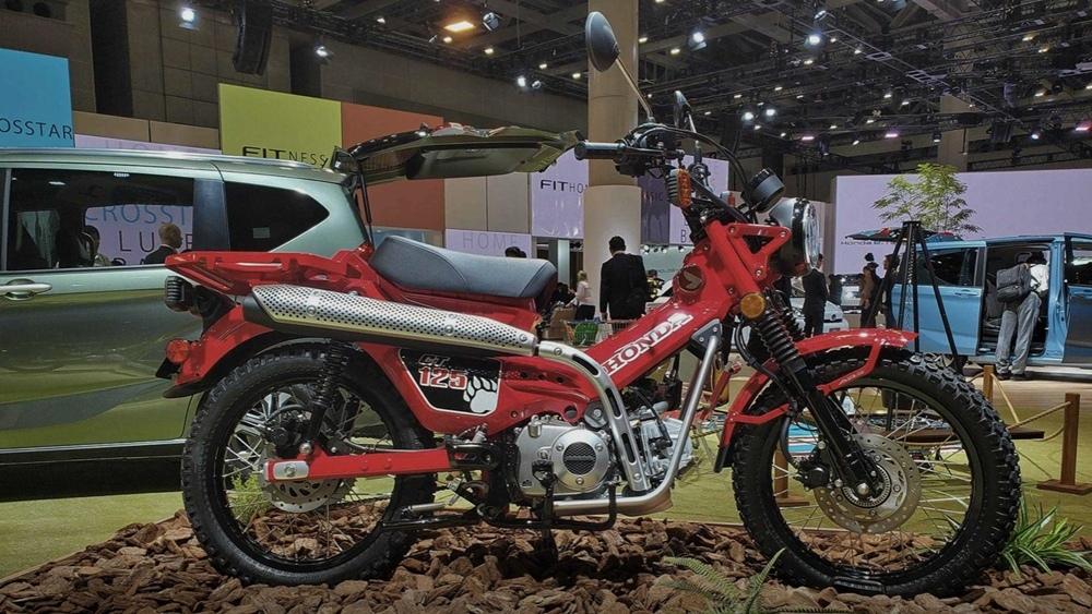 Honda CT125 Super Cub Trail могут запустить в серию