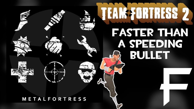 Faster Than A Speeding Bullet - (Team Fortress 2) || Metal Fortress Final Remix