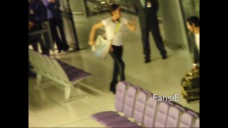 110111 Keunsuk @Thai airport