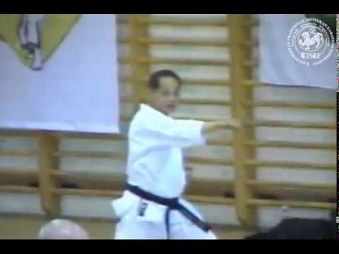 Asai kata Junro Shodan from sensey Dormenko Andrey 8 Dan ISKF
