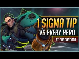 1 SIGMA TIP for EVERY HERO ft. ChroNoDotA (720p)
