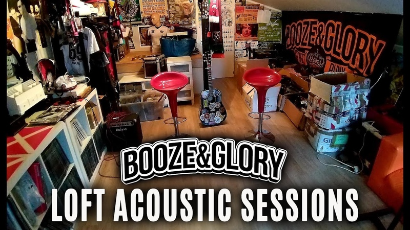 Booze Glory No Punk Rock In My Car Vanilla Muffins cover Loft Acoustic Sessions