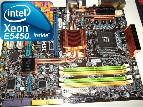 XEON E5450 OVERCLOCK @3.6Ghz. MSI P45 Neo2 FR (MS-7512) DDR2 16GB