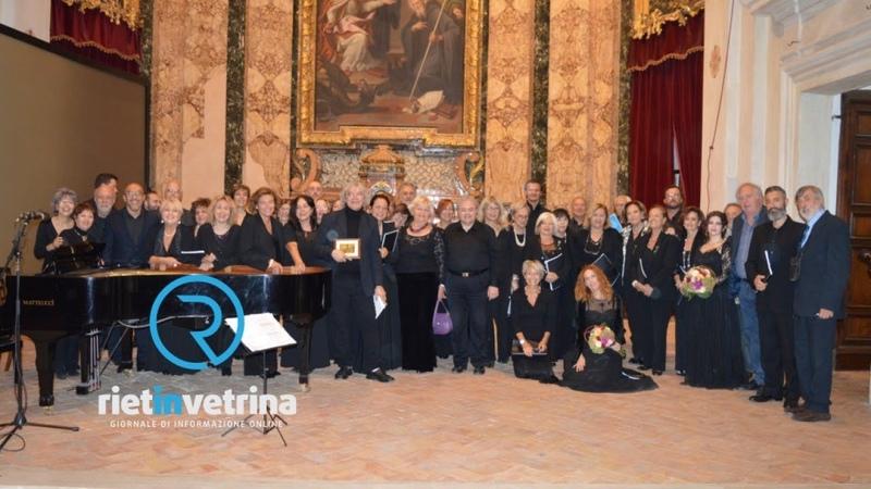 Pro Loco Rieti Memoriae 2019 Coro La Fenice di Roma