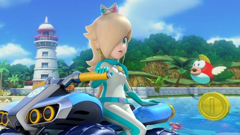 Mario Kart 8 Deluxe 150cc Shell Cup Grand Prix Rosalina Gameplay