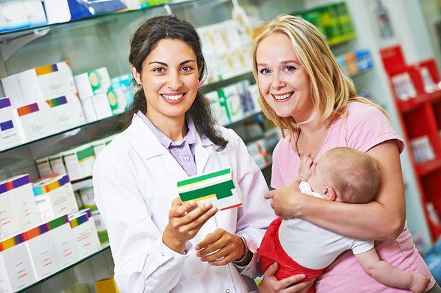 В аптеке вы можете приобрести все необходимые препараты для себя и ребенка