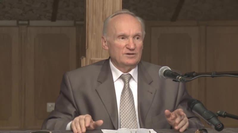 (В чем особенность духовной жизни для семейных людей) профессор Алексей Ильич Осипов