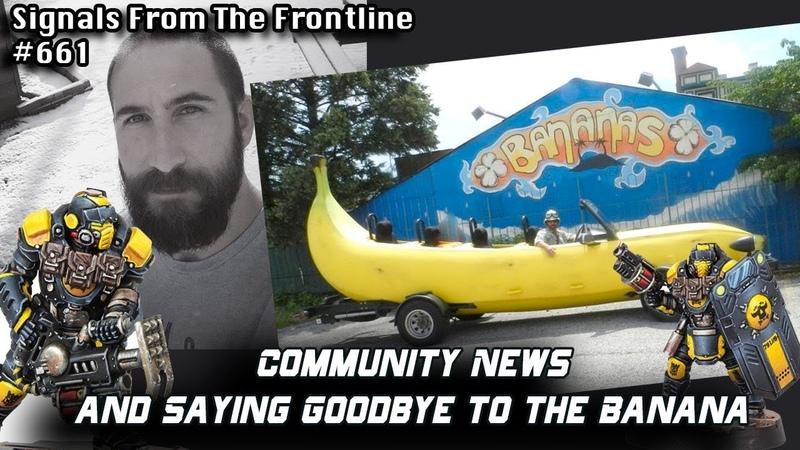 Signals from the Frontline 661: Community News and Saying Goodbye to the Banana