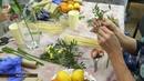В Магадане провели мастер-класс по созданию букетов из фруктов