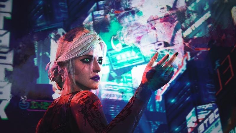 Цирилла в трейлере Cyberpunk 2077 мурашки по коже