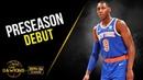 RJ Barrett Full Play 2019 10 07 Knicks vs Wizards 15 Pts 7 Rebs 3 Asts FreeDawkins