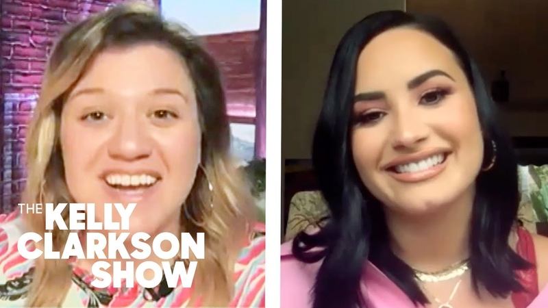 Demi Lovato Fangirls Over Kelly Clarkson 'You Are Fearless And Courageous And Real As F '