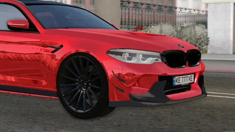 BMW M5 F90 Rainbow  Radmir Mta 1 