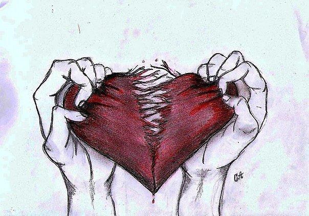Картинка сердце разбитое в руках