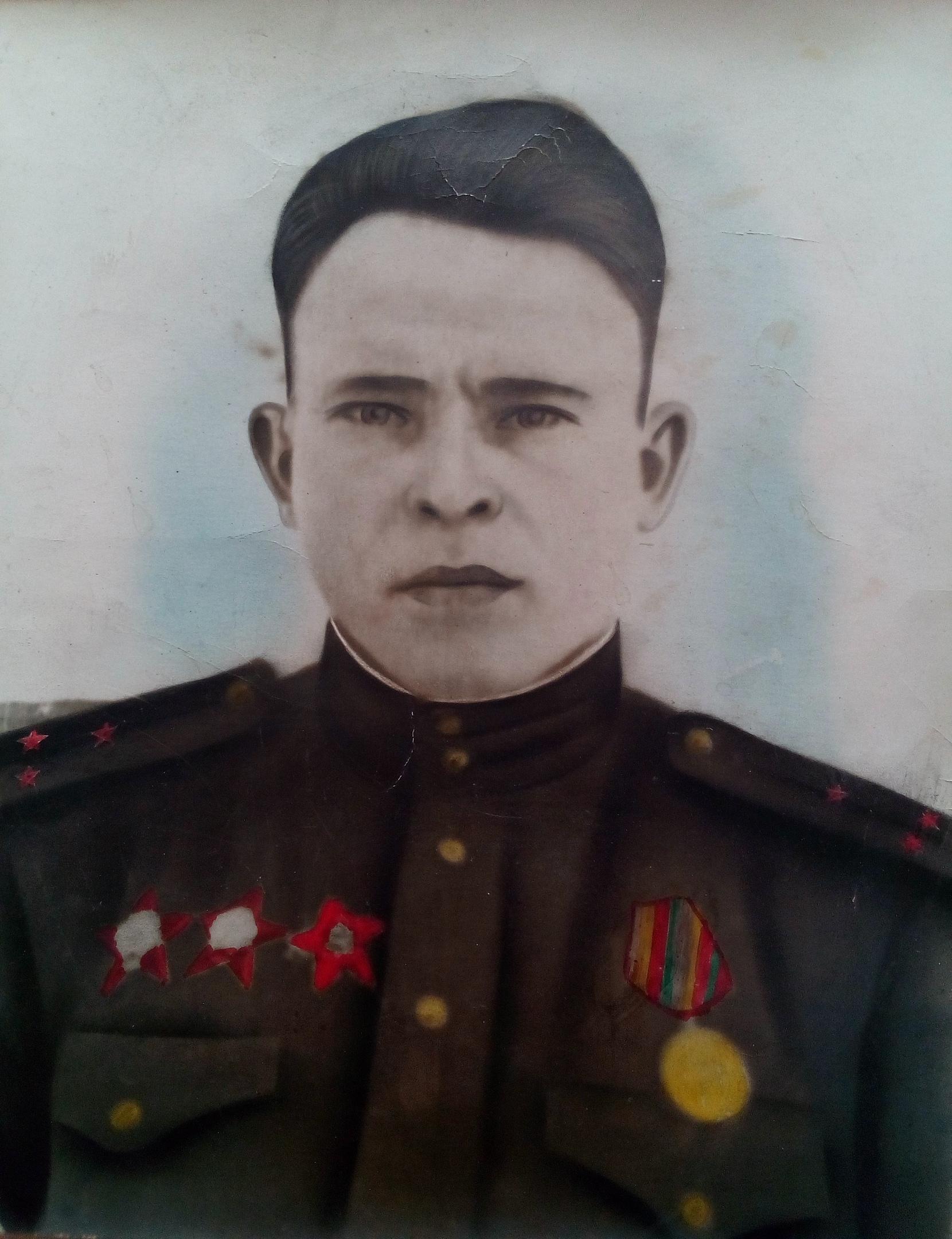 #бессмертныйполкмузеиРБ #ермекеевскиймузей #75летпобеды Аминев Гатият Габдуллович (1920-1945).