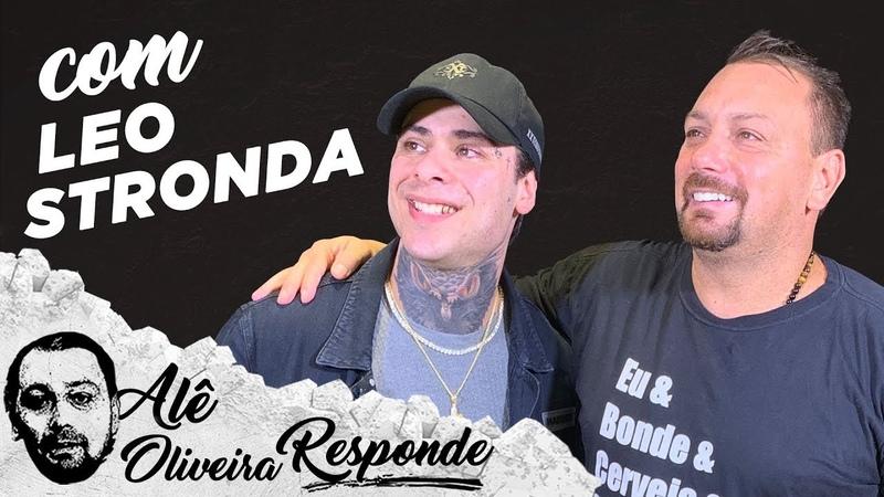 CRISTIANO RONALDO E NUDES FORAM ASSUNTO com Leo Stronda no Alê Oliveira Responde 123