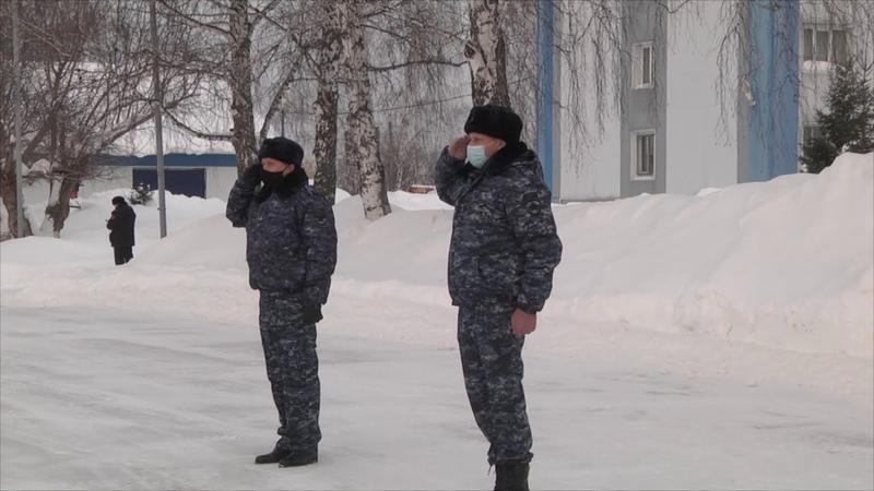 В очередную служебную командировку на Северный Кавказ отправился отряд томских полицейских