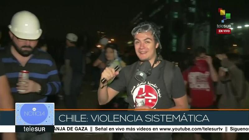 INDH reporta 3.449 chilenos heridos durante protestas contra Piñera