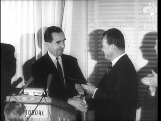 Willy Brandt's Freedom Award & Gromyko At White House (1961)
