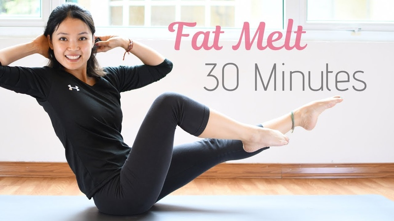 Fastest Fat Melt 💚 Lose Weight 30 Minute Pilates Workout