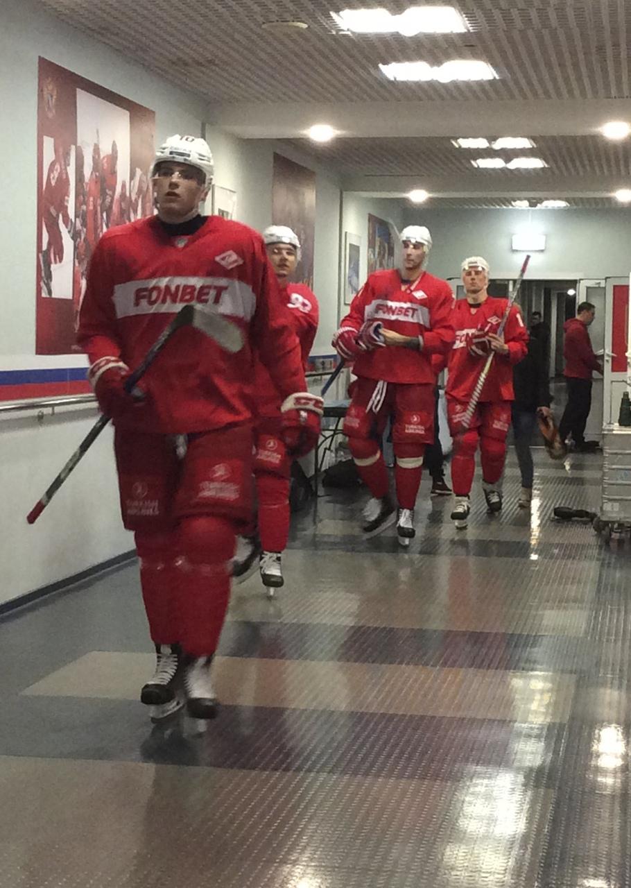 «Спартак» возобновил тренировки в Новогорске