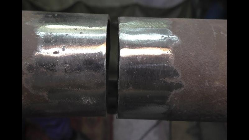 Как заварить трубу с большим зазором и тонкой стенкой