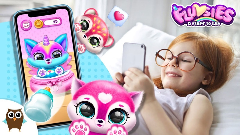 NEW🌈 Fluvsies - A Fluff to Luv! Cute Fluffy Pets for Kids | TutoTOONS Cartoons Games for Kids