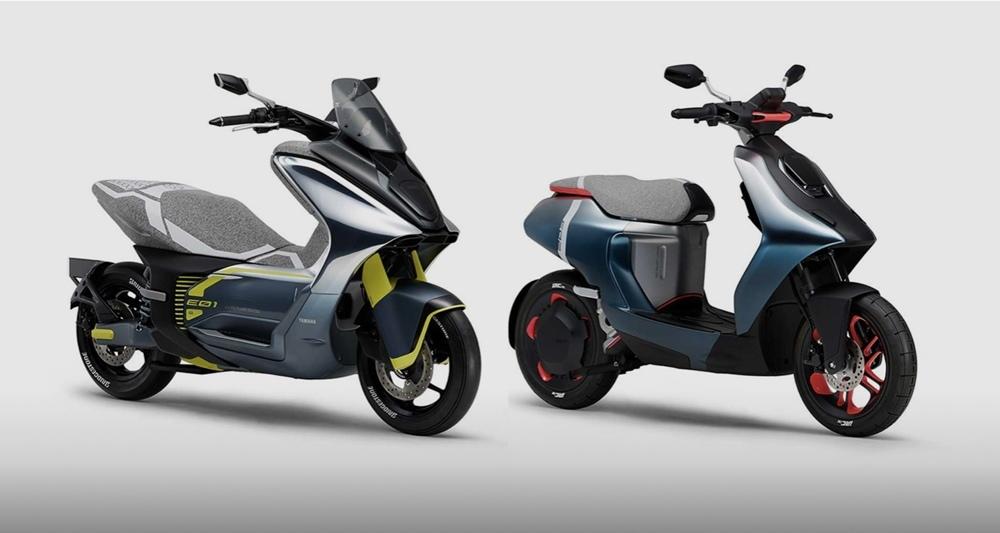 Yamaha представит два новых электроскутера
